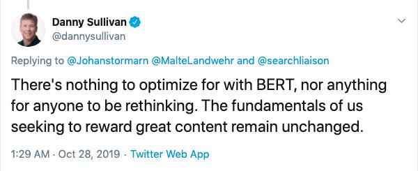 do nothing BERT Google